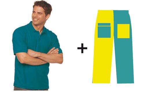 Polo-unisex-+-pantalon